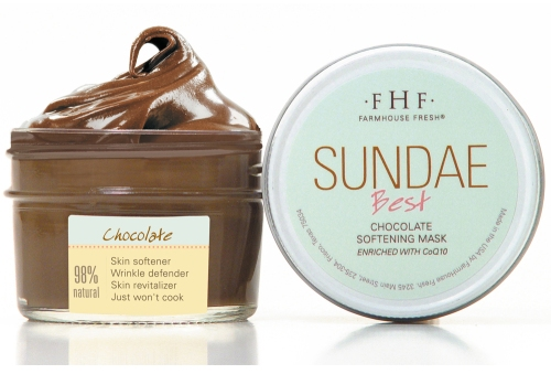 Farmhouse Fresh, Sundae Best Chocolate Softening Mask with CoQ10